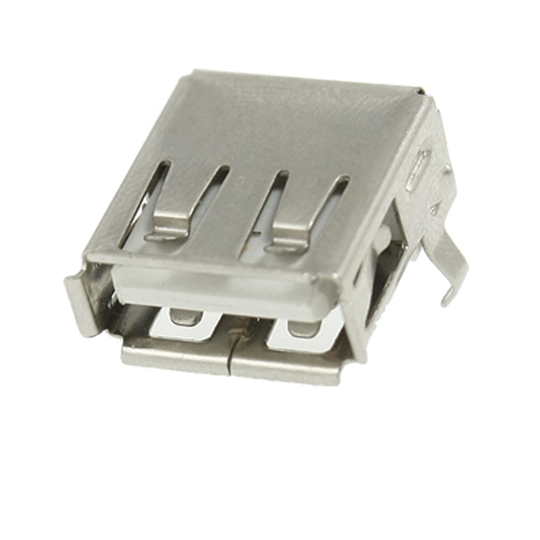 Replacement Computer USB Type A Right Angle Female Connector PCB Socket