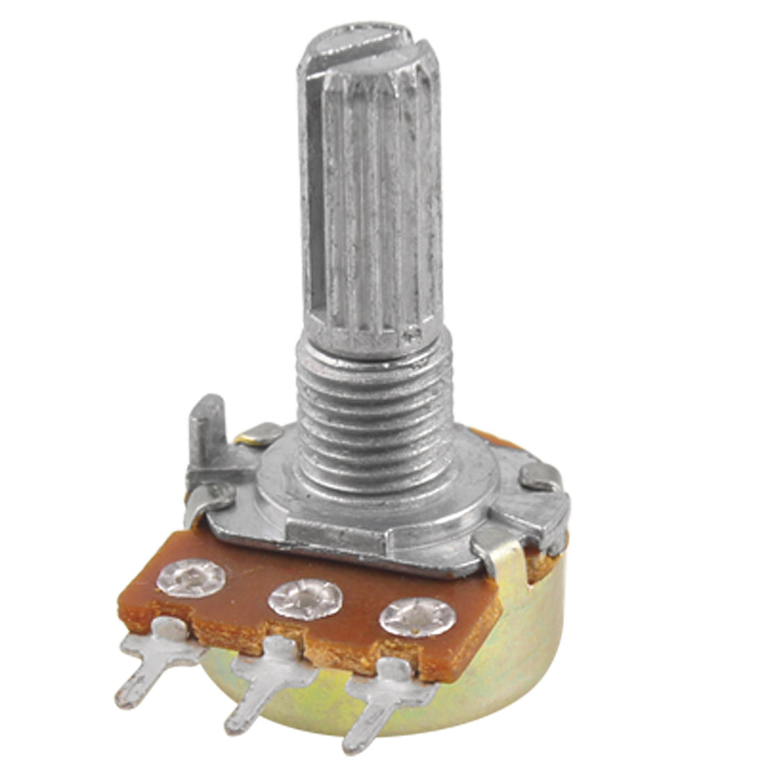 B50K 50K Ohm 3 Terminals Single Linear Rotary Taper Potentiometer