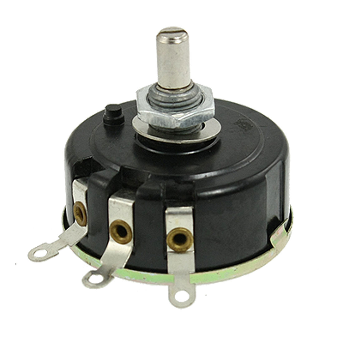 10K Ohm 6mm Shaft 3 Terminals Electrical Wirewound Potentiometer