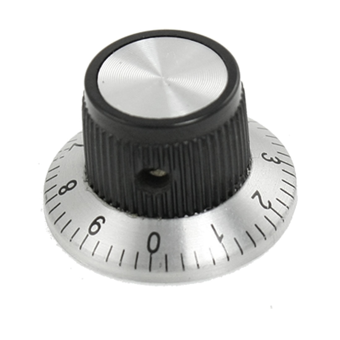 "Volume Control 0.59"" Top Dia 0.236"" Shaft Digits Potentiometer Knob"