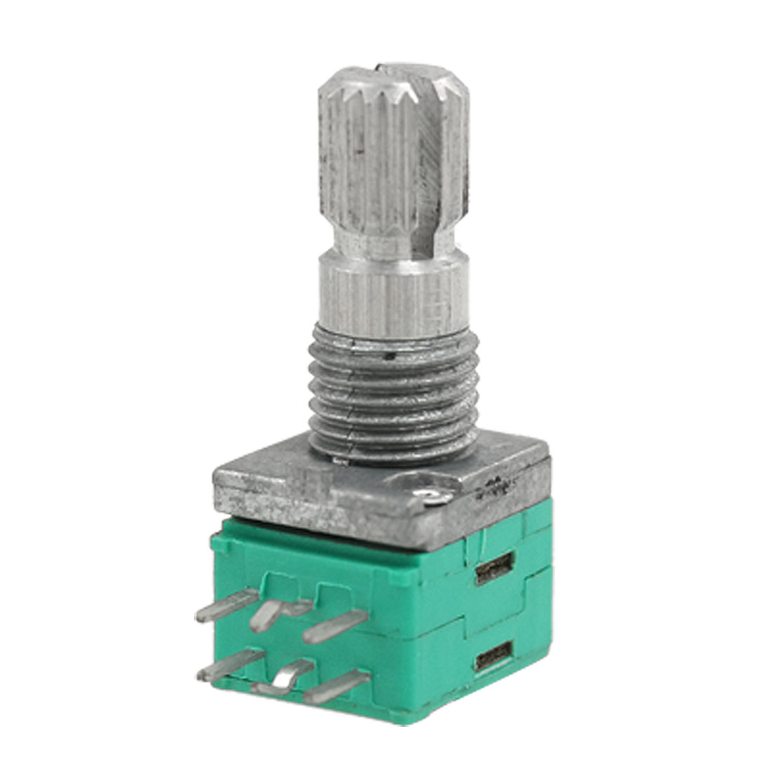 6mm Split Shaft 10K ohm 80mW Carbon Single Turn Axial Potentiometer