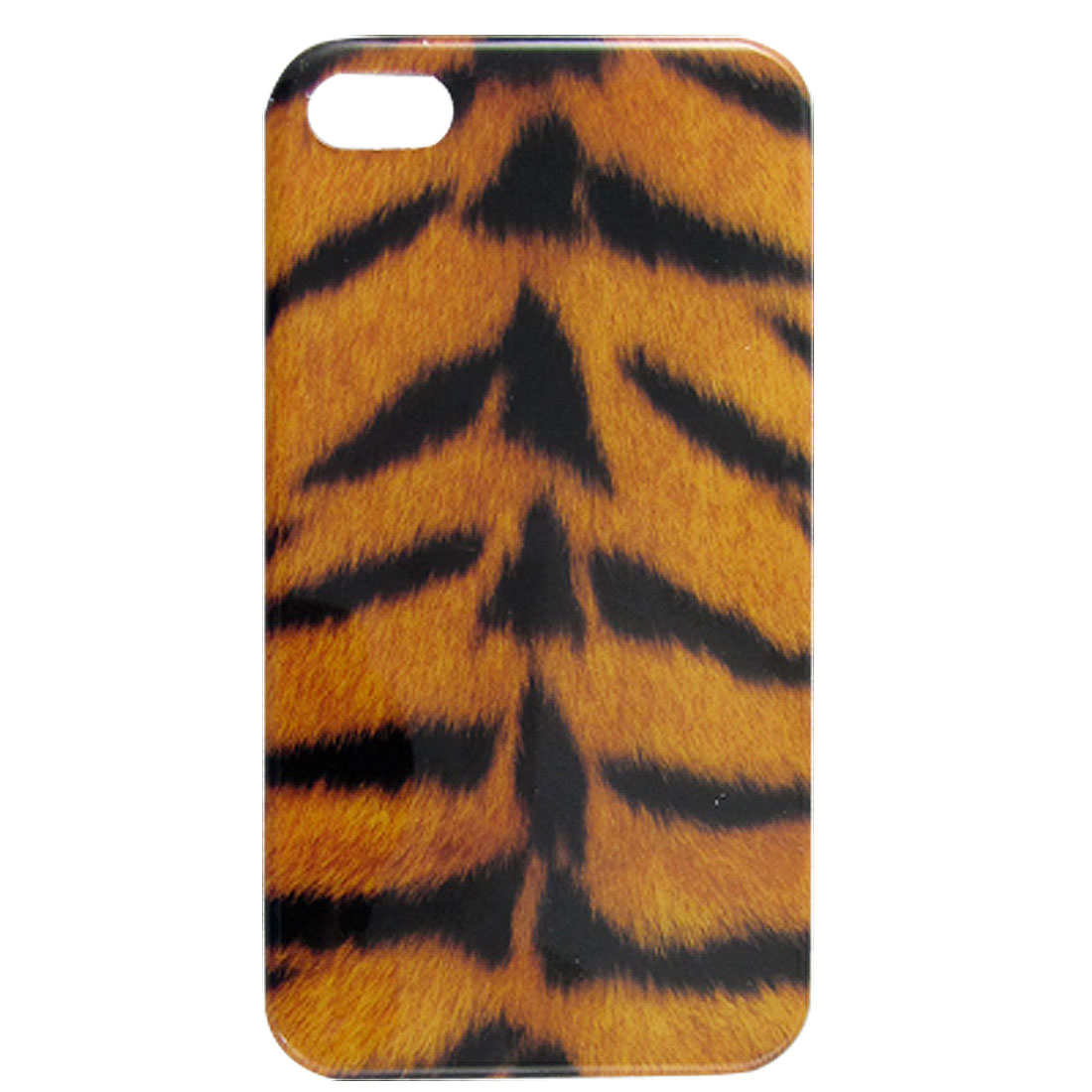 IMD Tiger Print Yellow Black Hard Plastic Back Case for iPhone 4 4G 4S