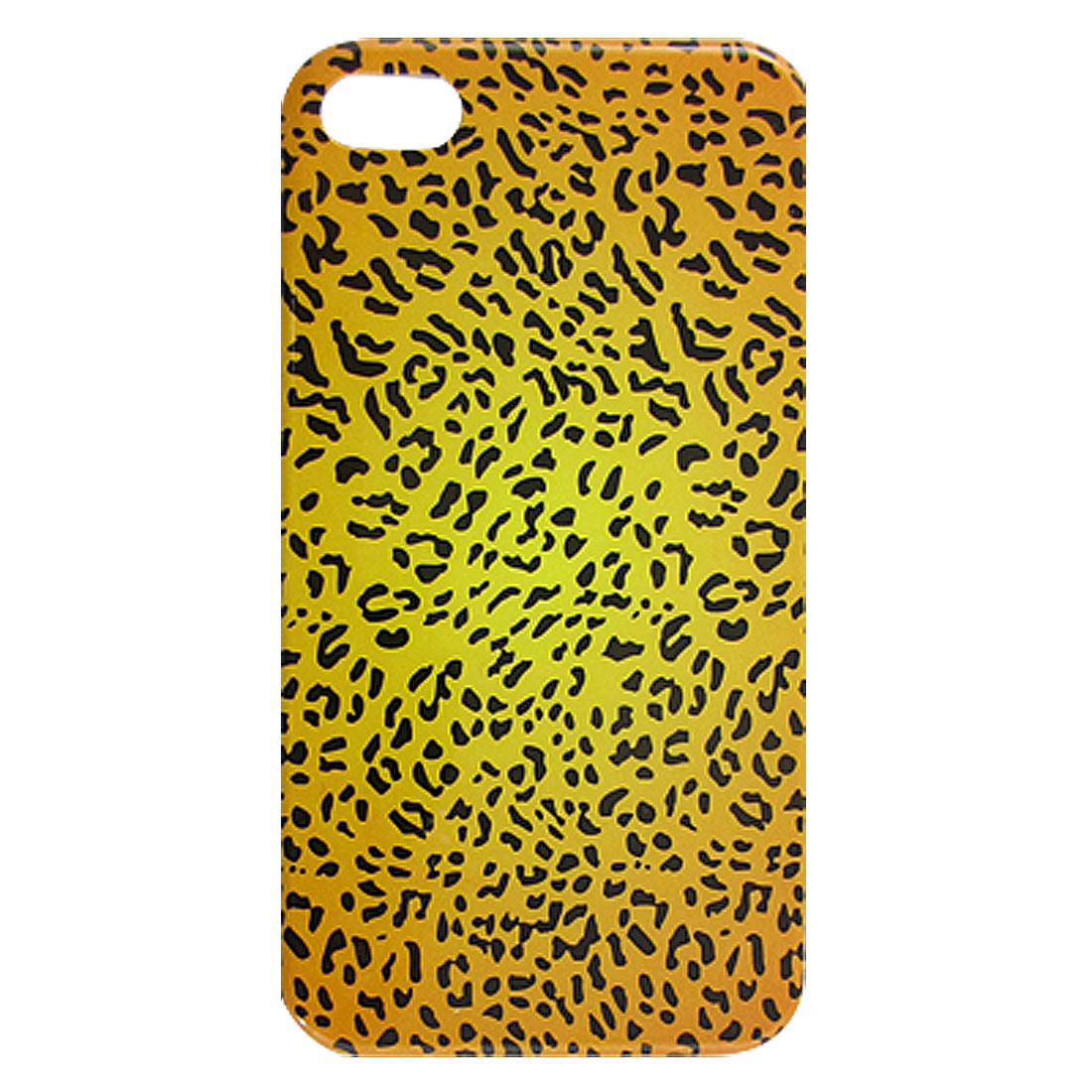 Leopard Print Hard Plastic IMD Back Case for iPhone 4 4G 4S