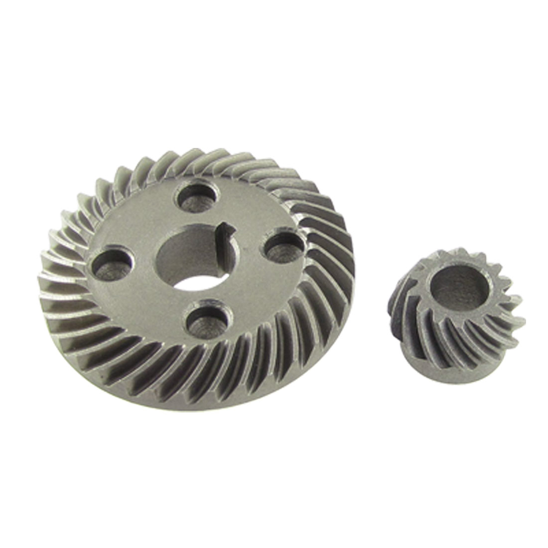 2 Pcs Angle Grinder Spiral Bevel Gear Set for Hitachi G10SF3