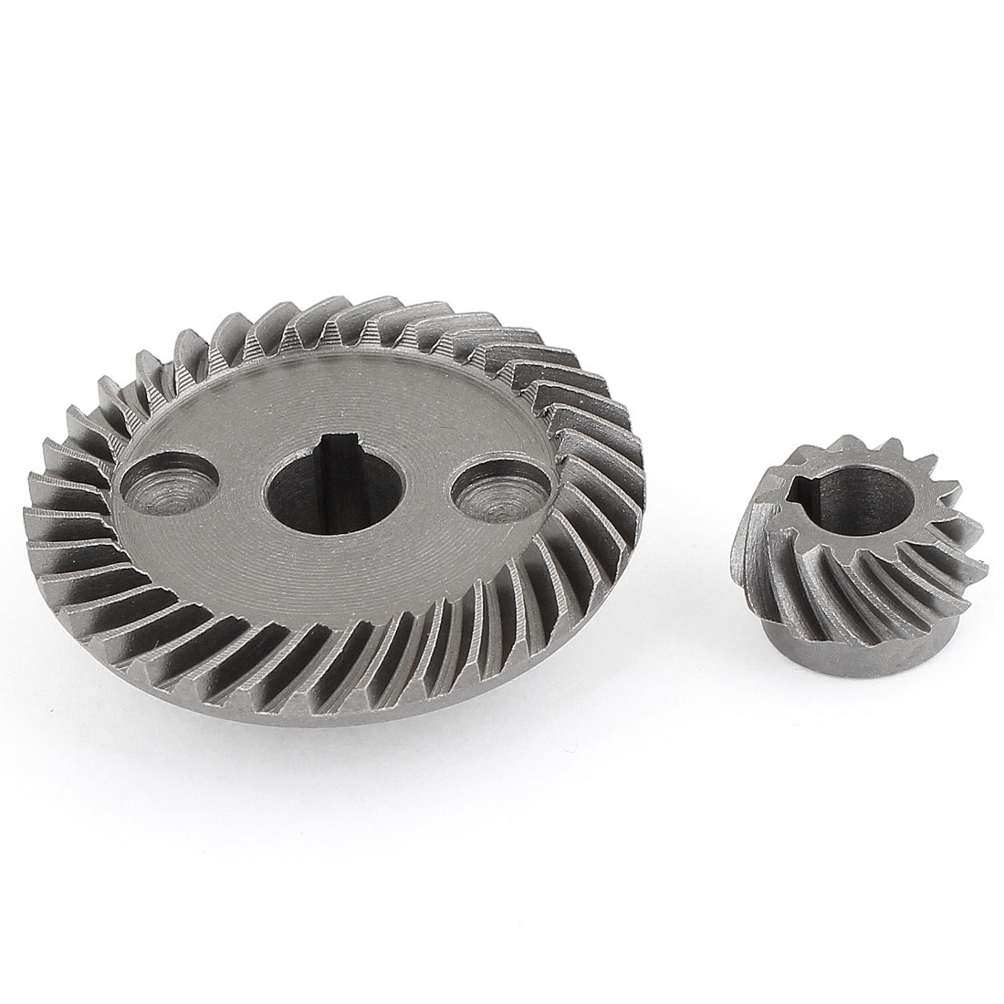 2 Pcs Replacement Angle Grinder Spiral Bevel Gear Set for Makita 9523