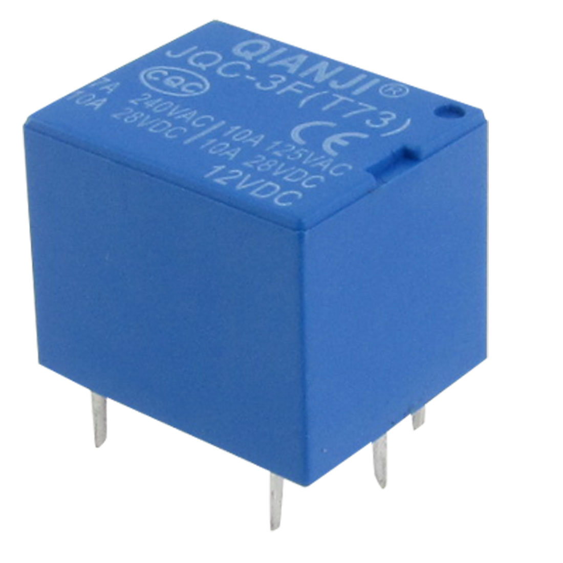 JQC-3F(T73) Electromagnetism DC 12V Coil Mini Power Relay