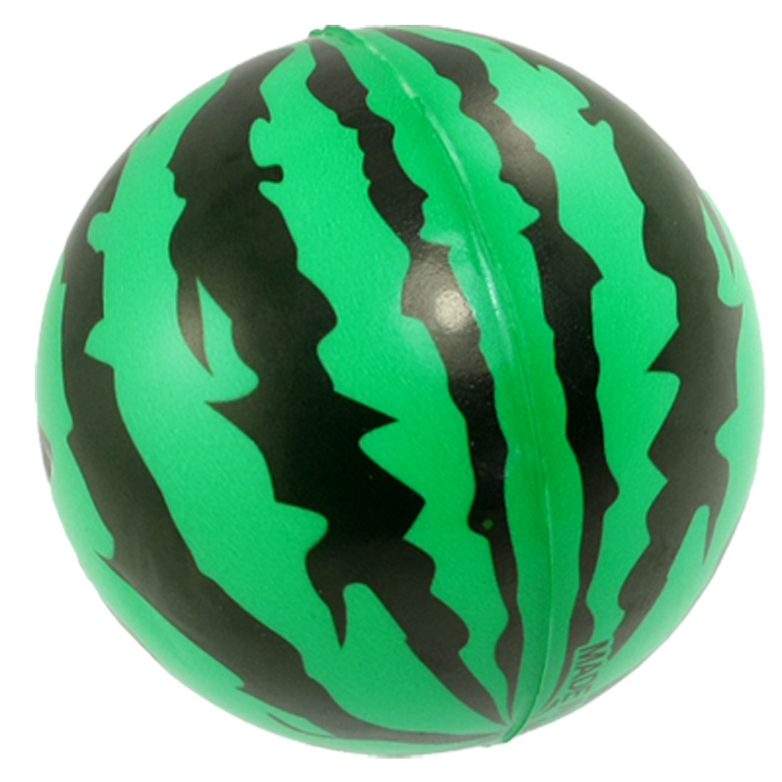 Children Sponge Green Black Watermelons Ball Playing Toy