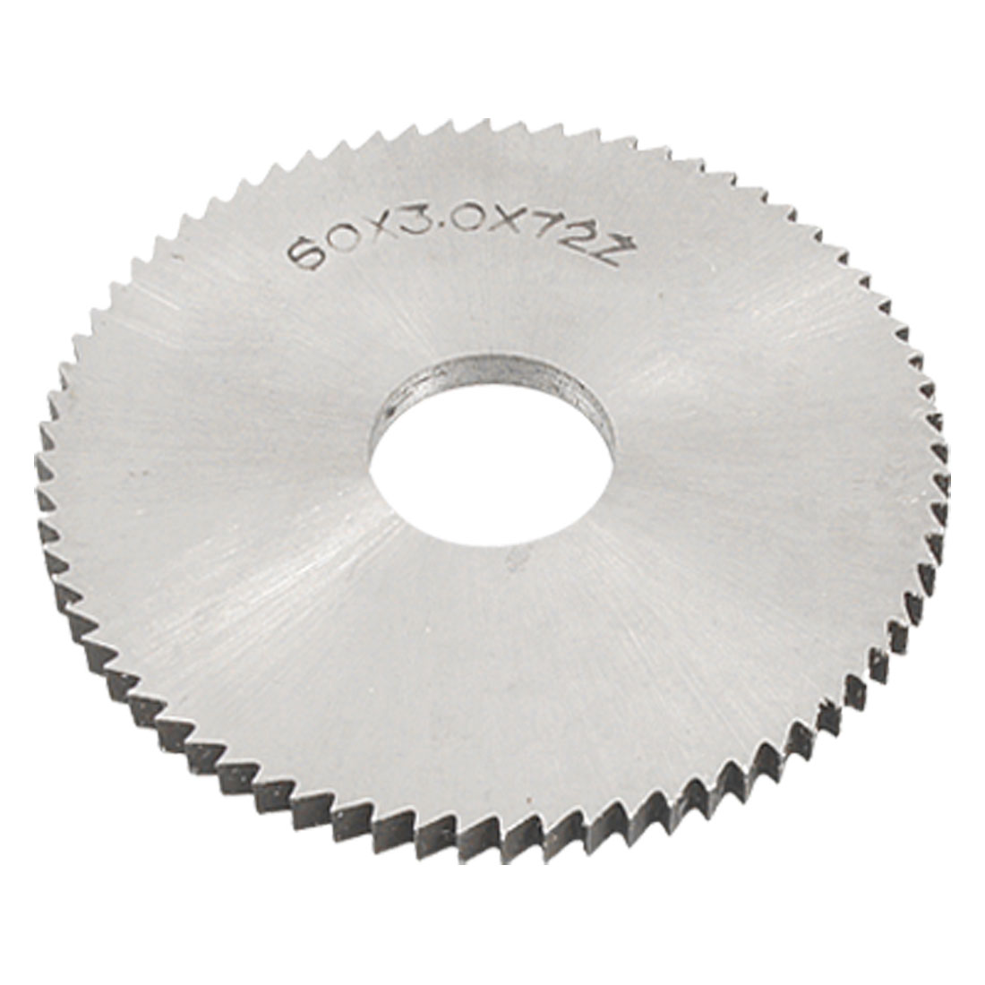 60mm OD 3mm Thickness 72T HSS Slitting Saw Cutting