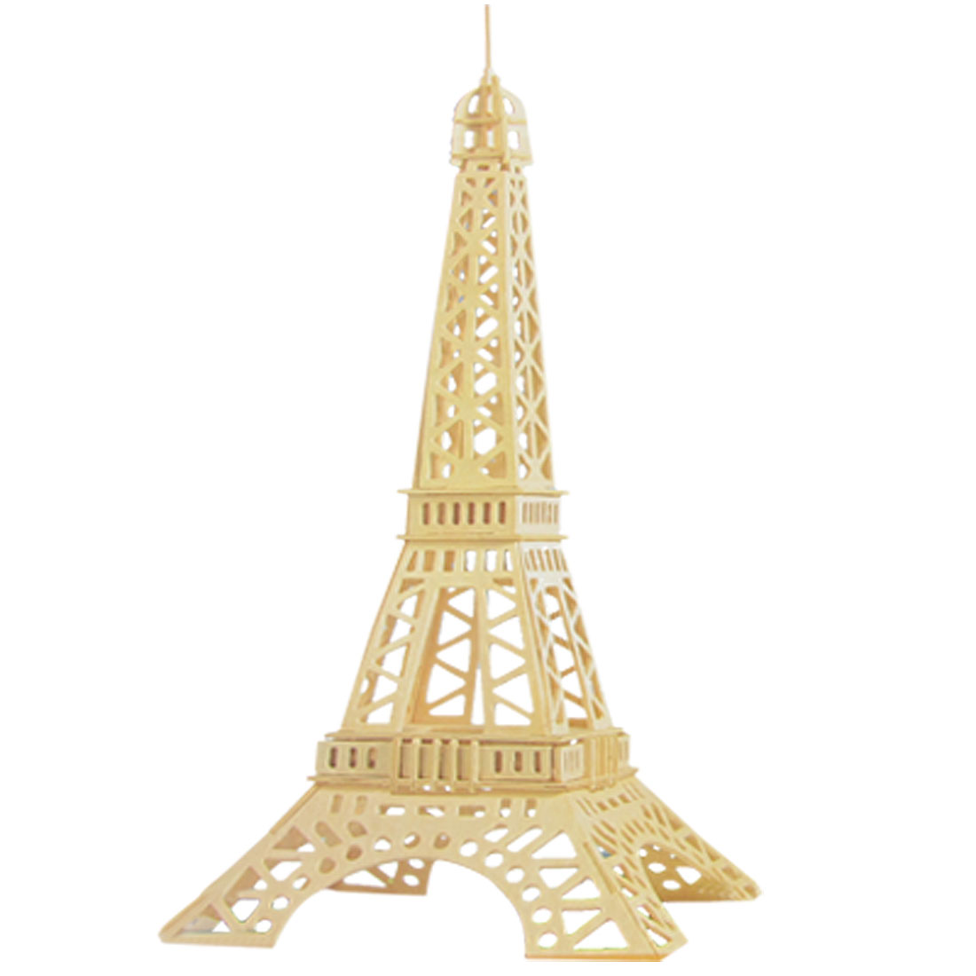 Eiffel Tower Model 3D Wooden Assembly Puzzle Toy DIY Construction Kit for Children