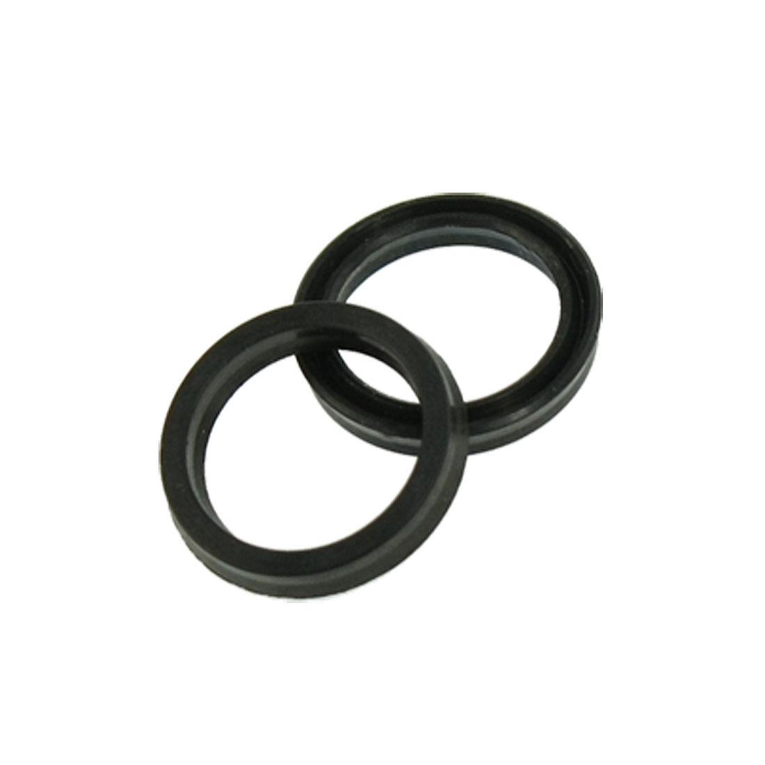 2 Pcs 14mm Inner Diameter Pneumatic Air Sealing Rings Rubber Gaskets