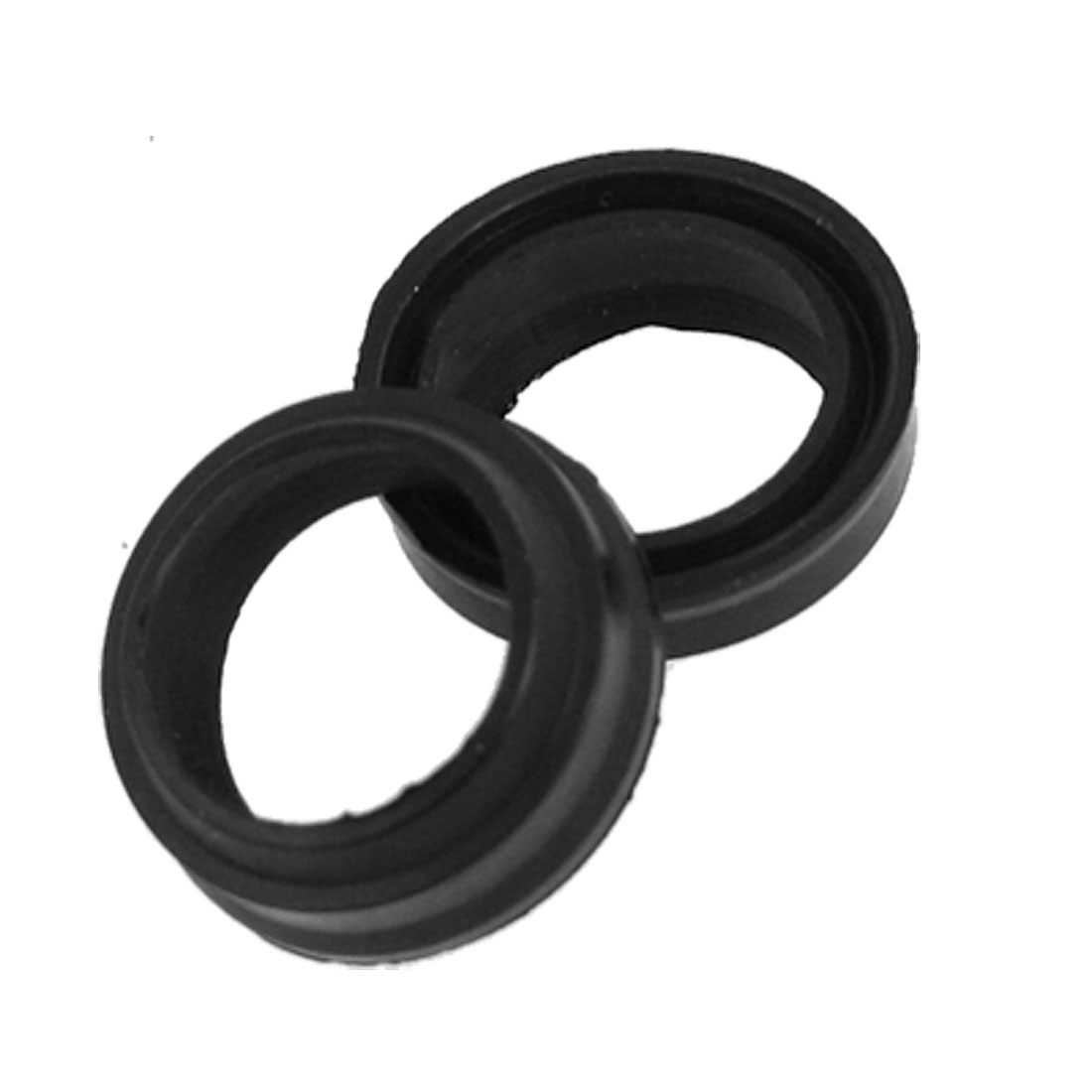 2 Pcs 12mm x 16mm Rubber Pneumatic Air Sealing Seal Rings Gaskets
