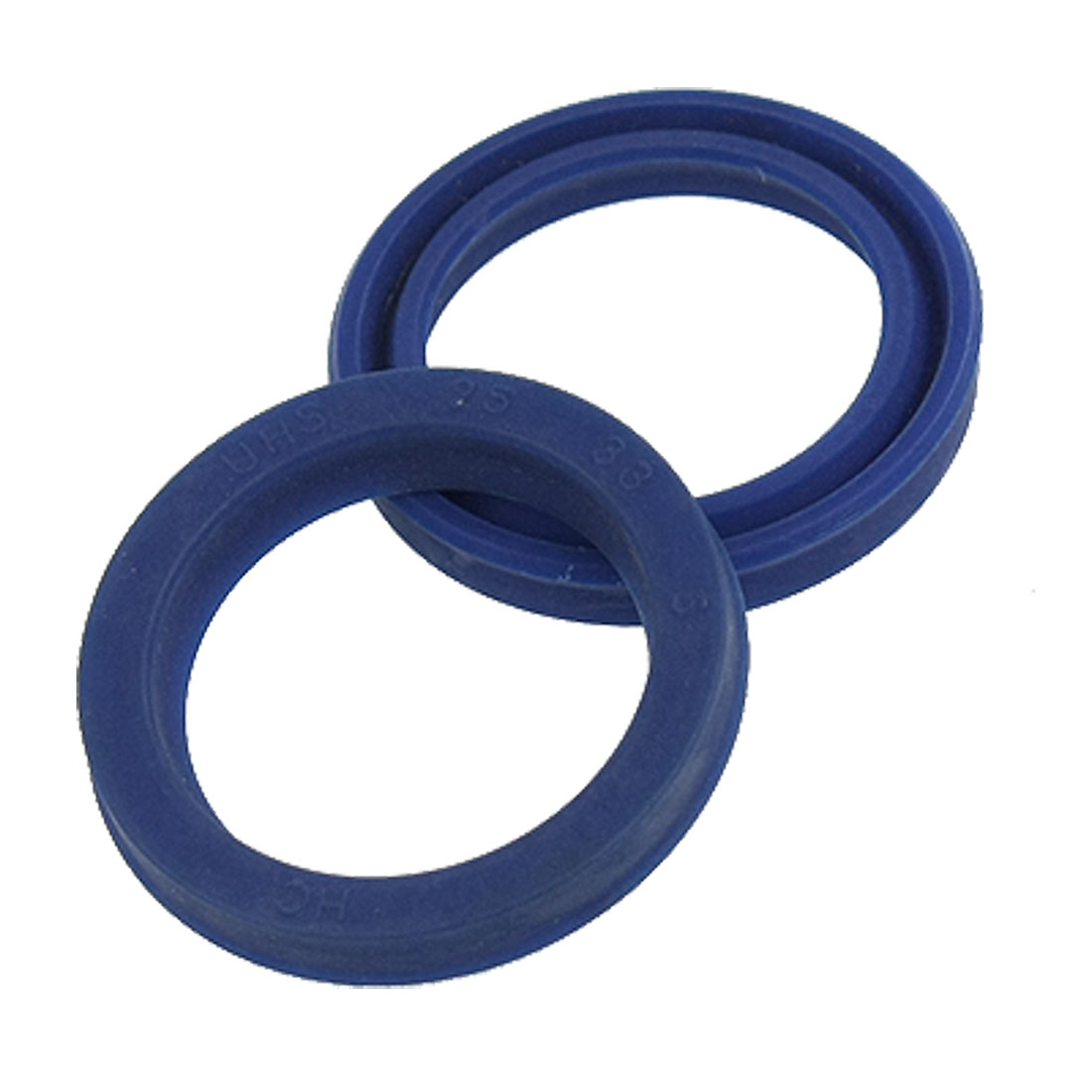 5 Pcs 25mm x 33mm Blue Polyurethane Oil Seal Rings Sealing Gaskets
