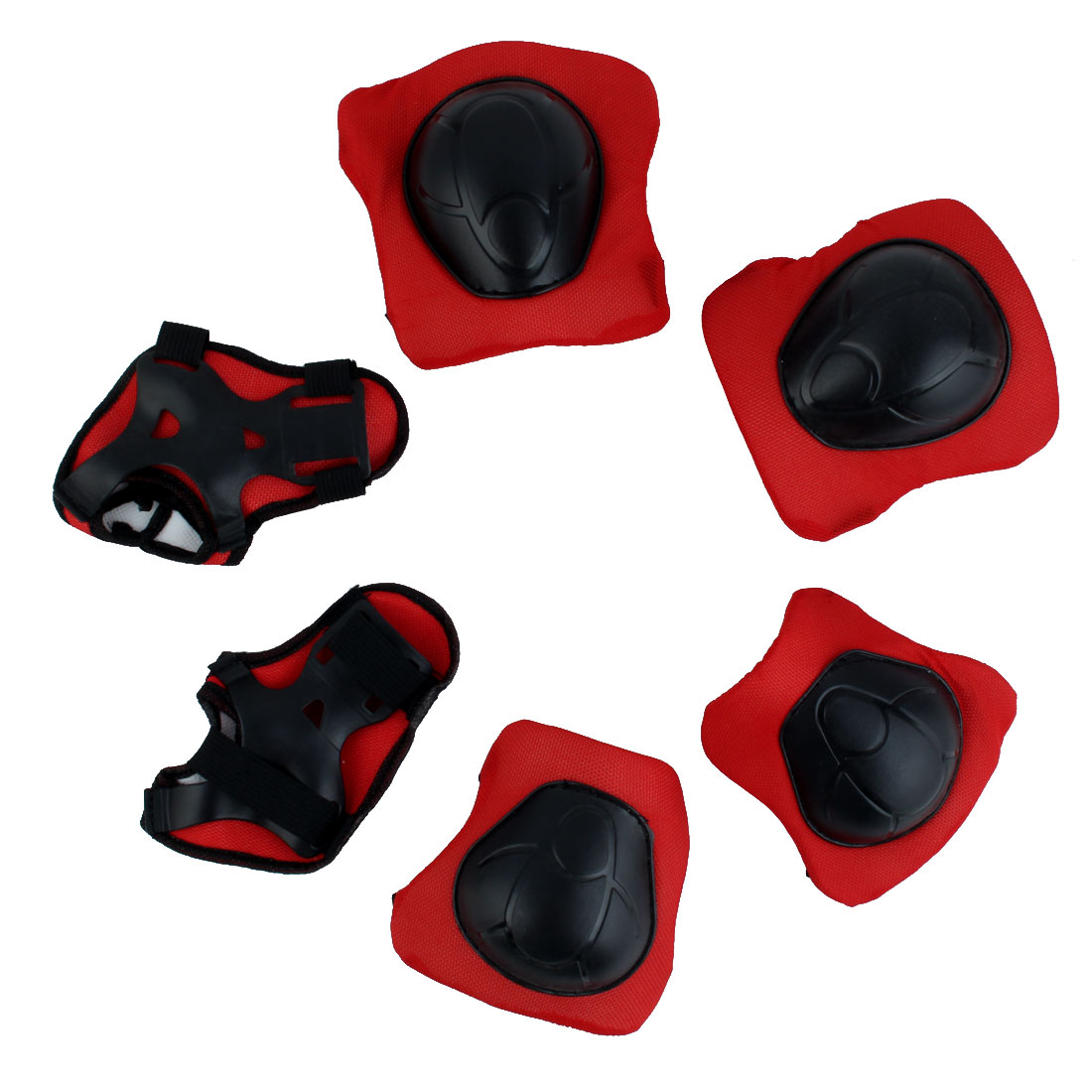 Children Roller Skating Biking Elbow Support Knee Guard Gear Protector 6 in 1