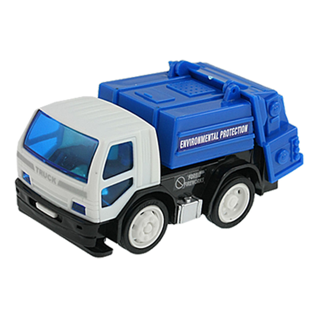 Children Blue White Plastic Environmental Protection Truck Car Toy