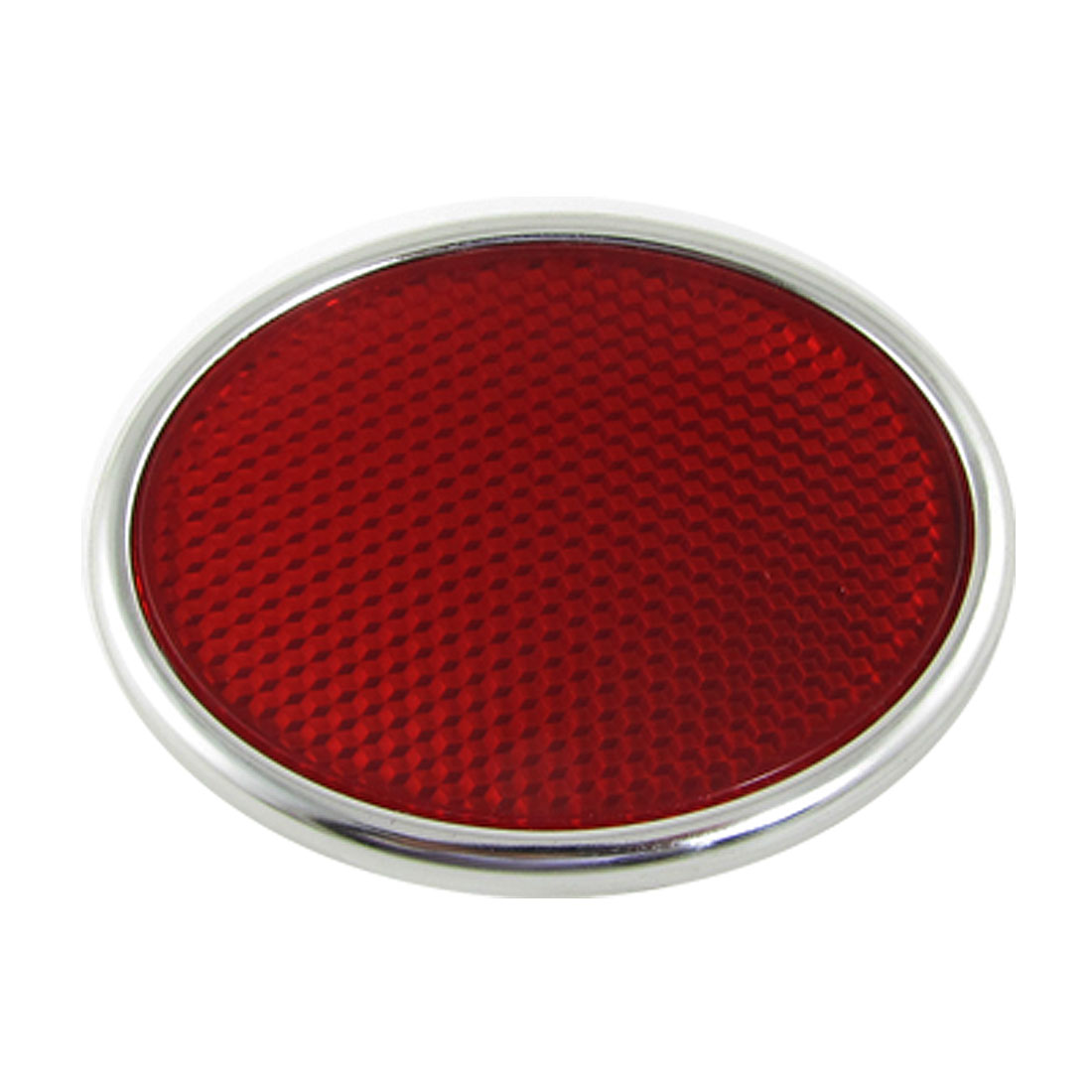 Auto Car Safety Reflective Sticker Decoration Red Silver Tone