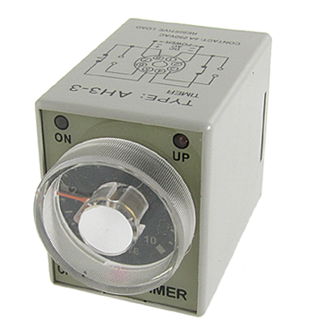 AH3-3 8 Pins 0-10 Minute Power ON Delay Timer Time Relay AC 220V