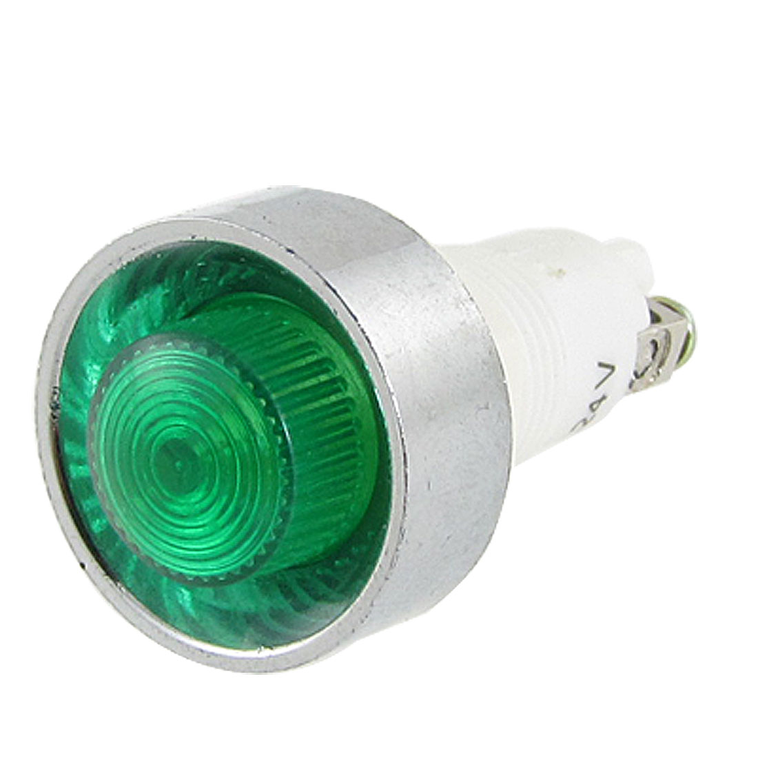 DC 24V Green Cap Emergency Signal Indicator Lamp Light
