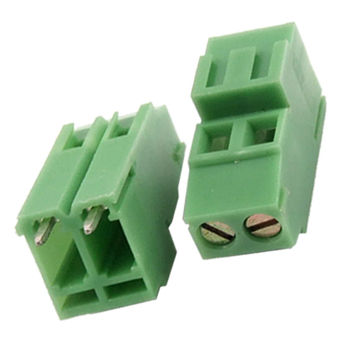 5 Pcs 2P 2-Way 5.08mm Pitch Terminal Block Connectors 10A