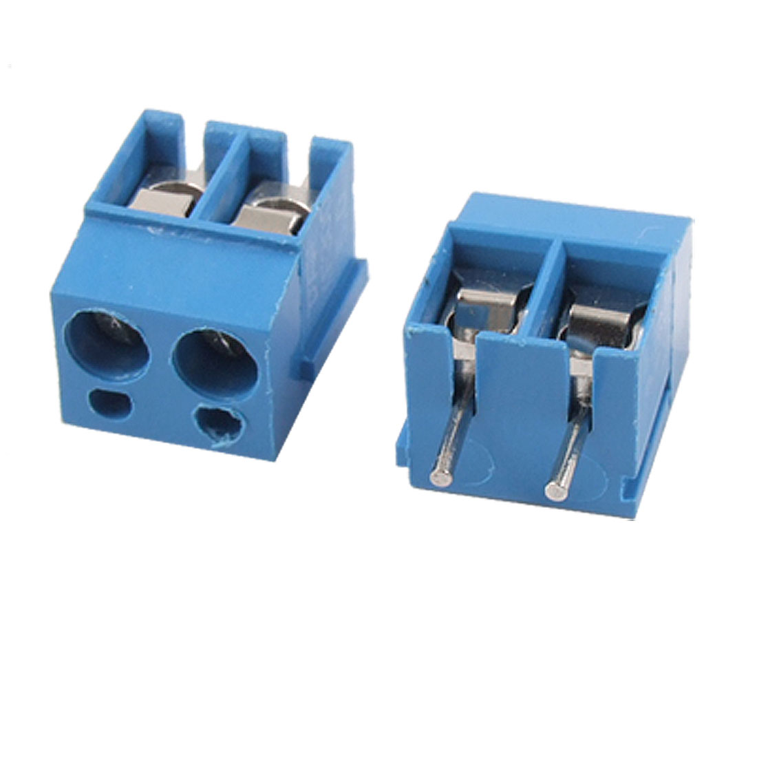 4 Pcs 2 Terminals 2 Way PCB Screw Teminal Blocks 5mm Pitch AC 300V 16A
