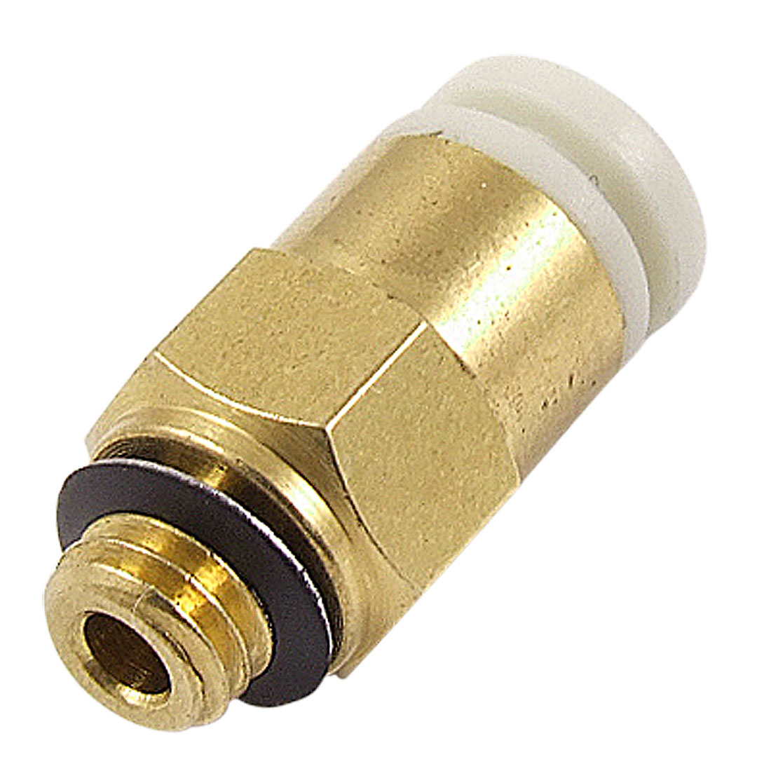 KJH04-M5 4mm Tube 5mm Male Thread Quick Coupling Straight Connector Pneumatic Fitting