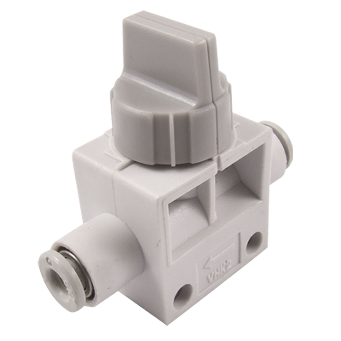 VHK2-04F-04F 4mm One Touch Fitting Pneumatic Quick Connector Hand Valve