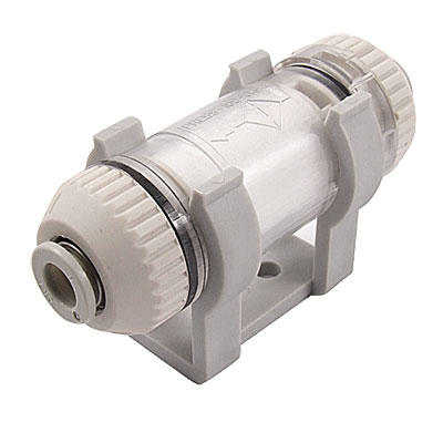 6mm OD Tube One Touch Fitting Vacuum Air Suction Filter ZFC200-06B