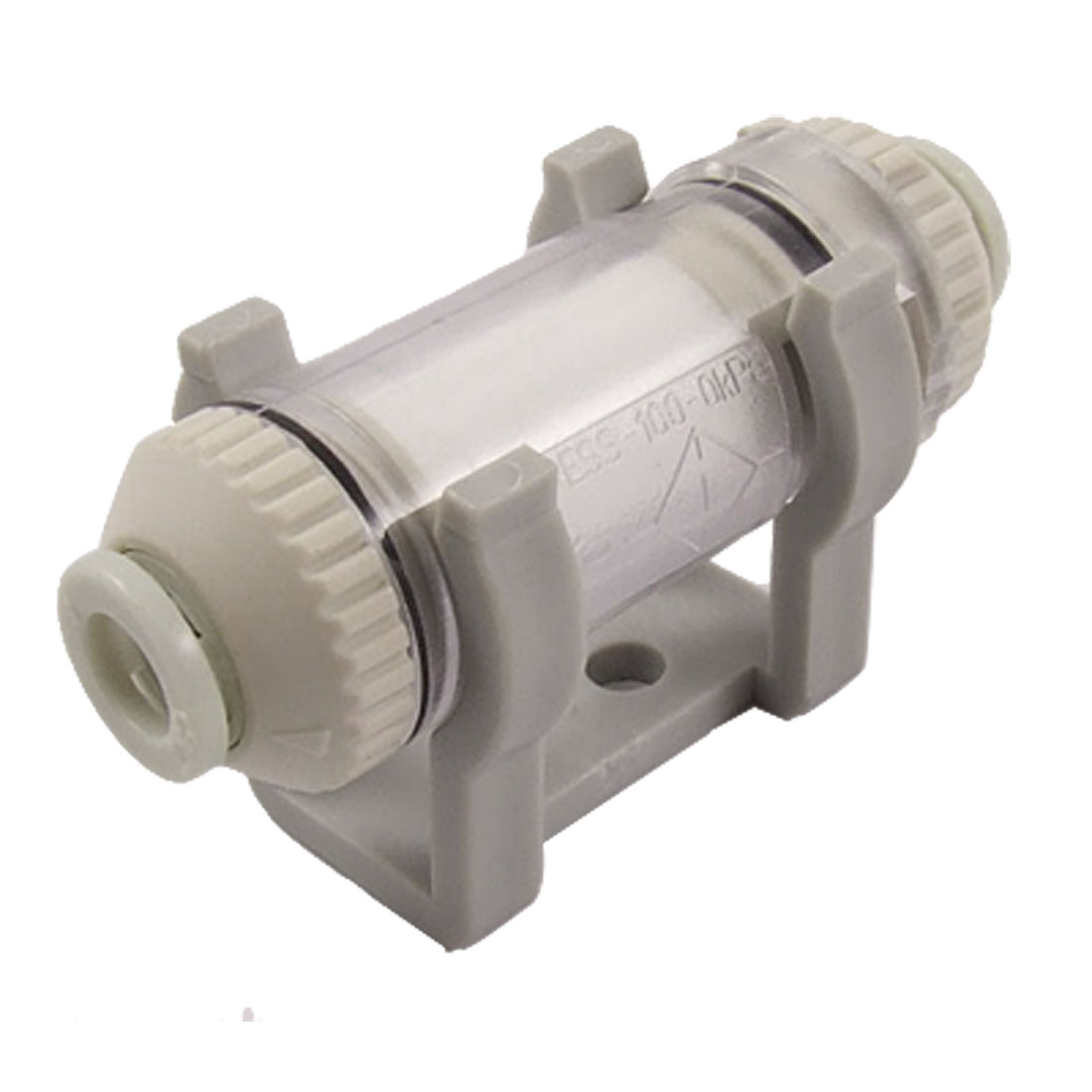 ZFC100-06B 6mm OD Tube Push in Quick Connector In Line Vacuum Air Suction Filter