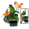 Plastic Orange Oriole-bird Pen Holder Singing Bird Desk Decor