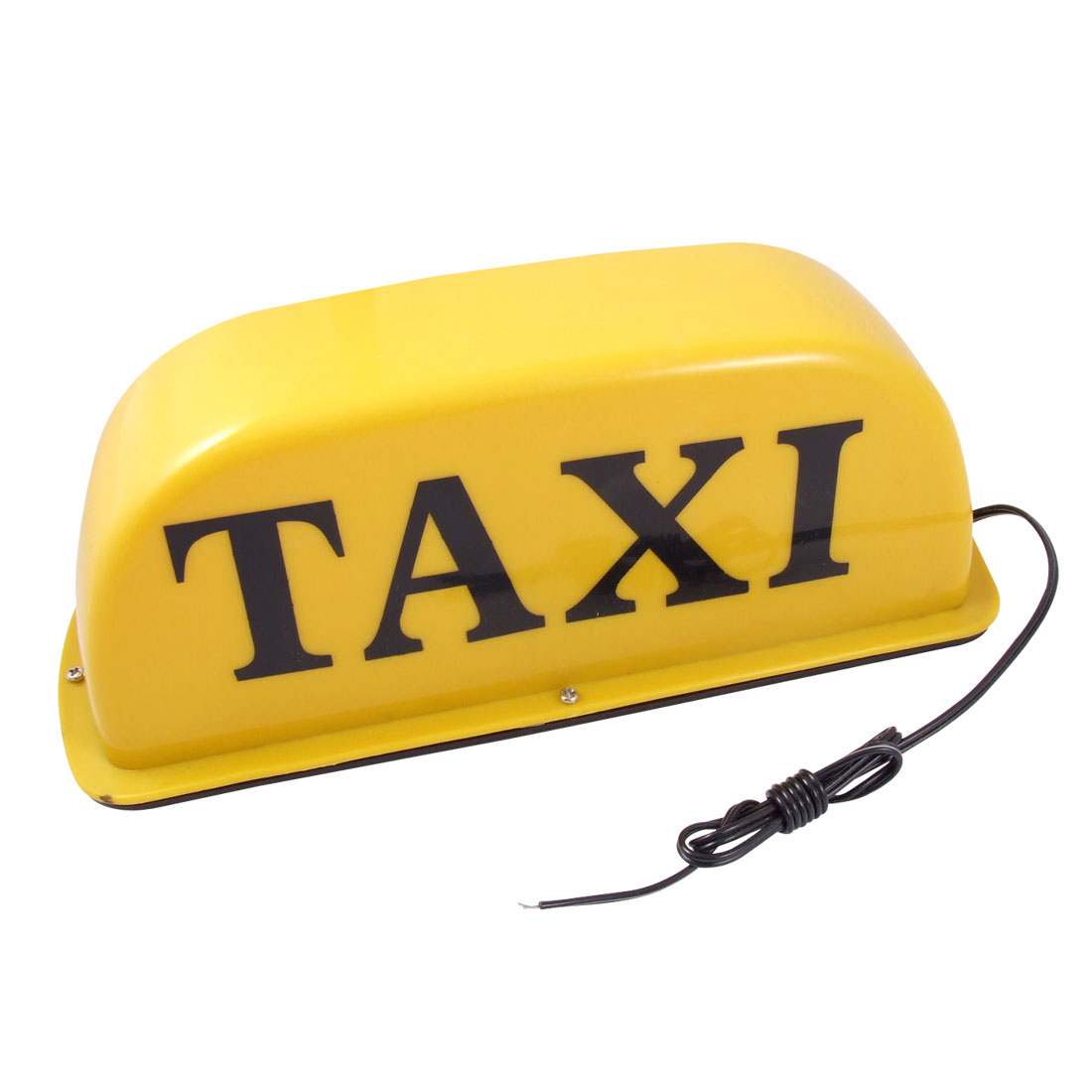 Yellow Light Magnetic Base Taxi Cab Roof Sign Light Lamp 12V