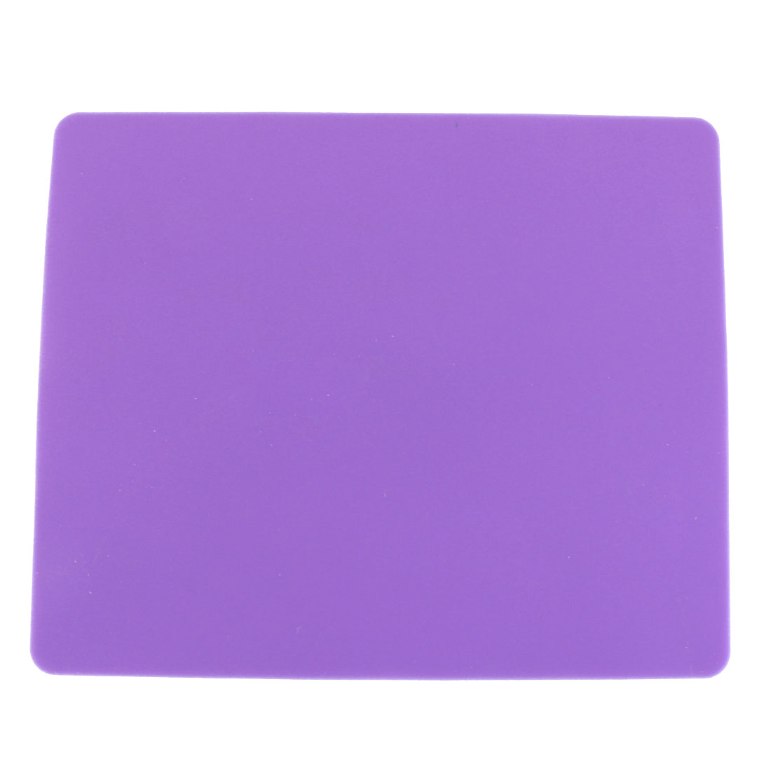 Rectangle Silicone Nonslip Purple Mouse Pad Mat for Laptop