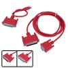 RS232 to RS422 Adapter Cable for Mitsubishi SC-09 Melsec FX A PLC Red 5.2 Ft Long