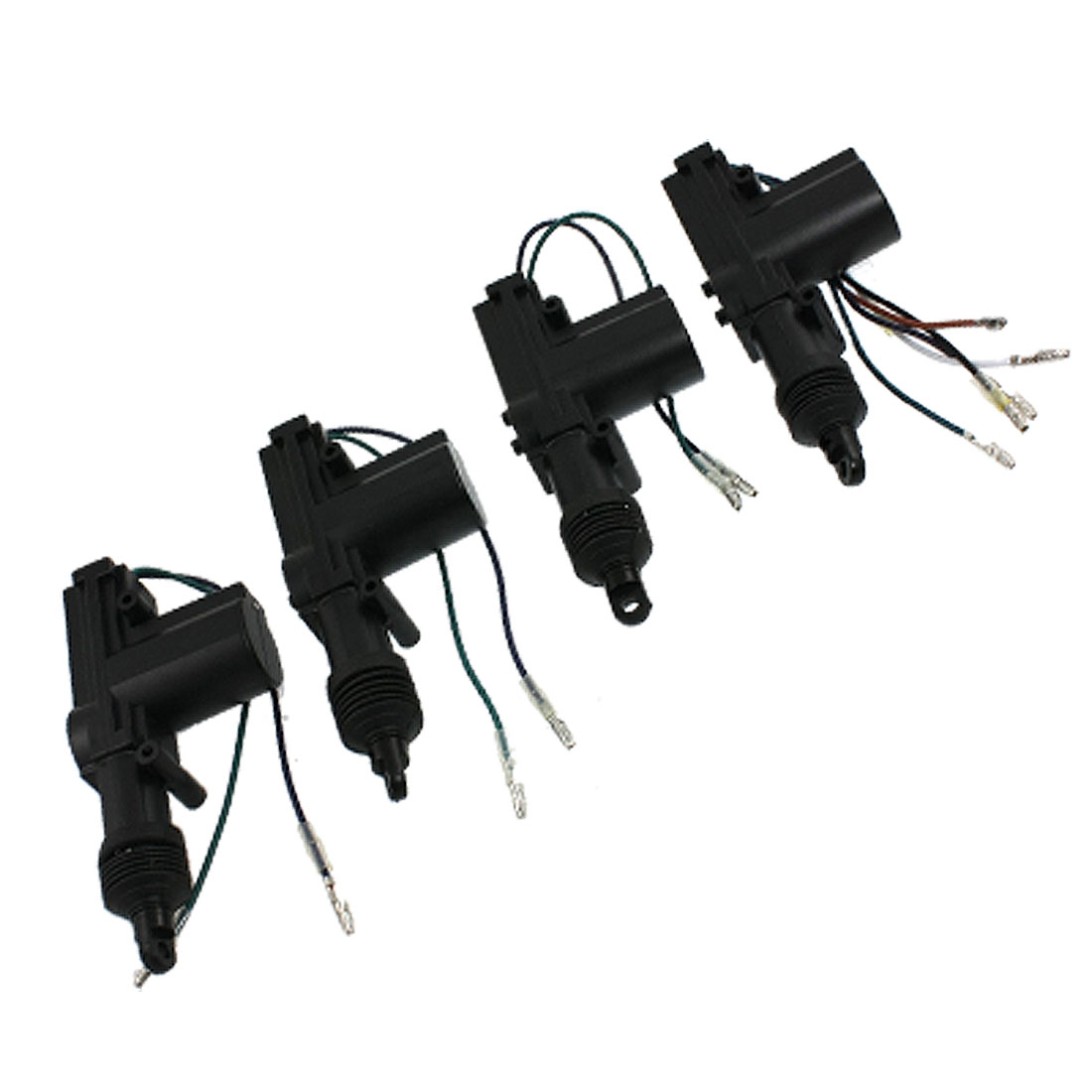 Car Locking System 2 Wires Slaves Central Door Lock Actuator Black