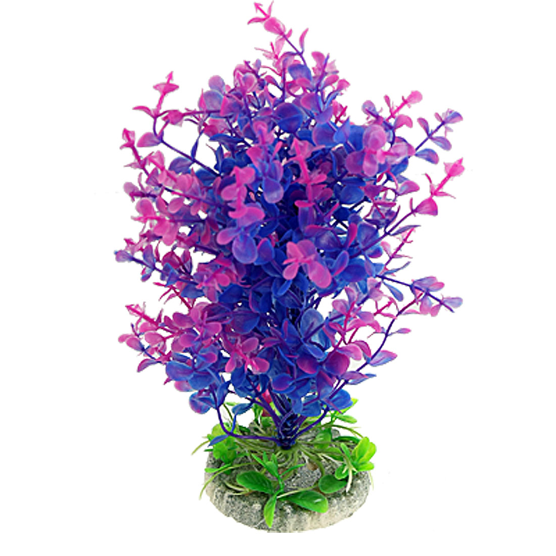 """Aquarium Emulational Purple Blue Aquascaping Aquatic Plants Ornament 8.1"""""""