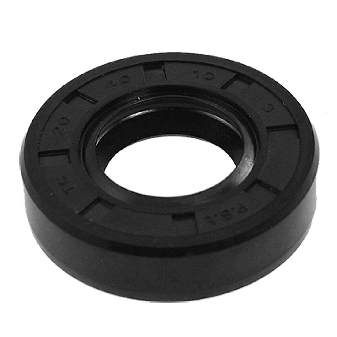 Metric Rotary Shaft Oil Seal 20 x 40 x 10 20x40x10mm TC Double Lipped