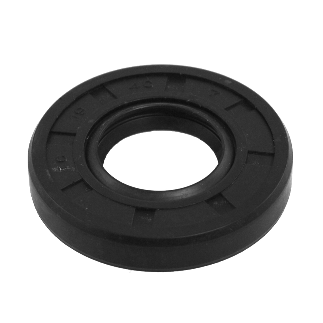Spring Loaded Metric Rotary Shaft TC Oil Seal Double Lip 10x20x7mm