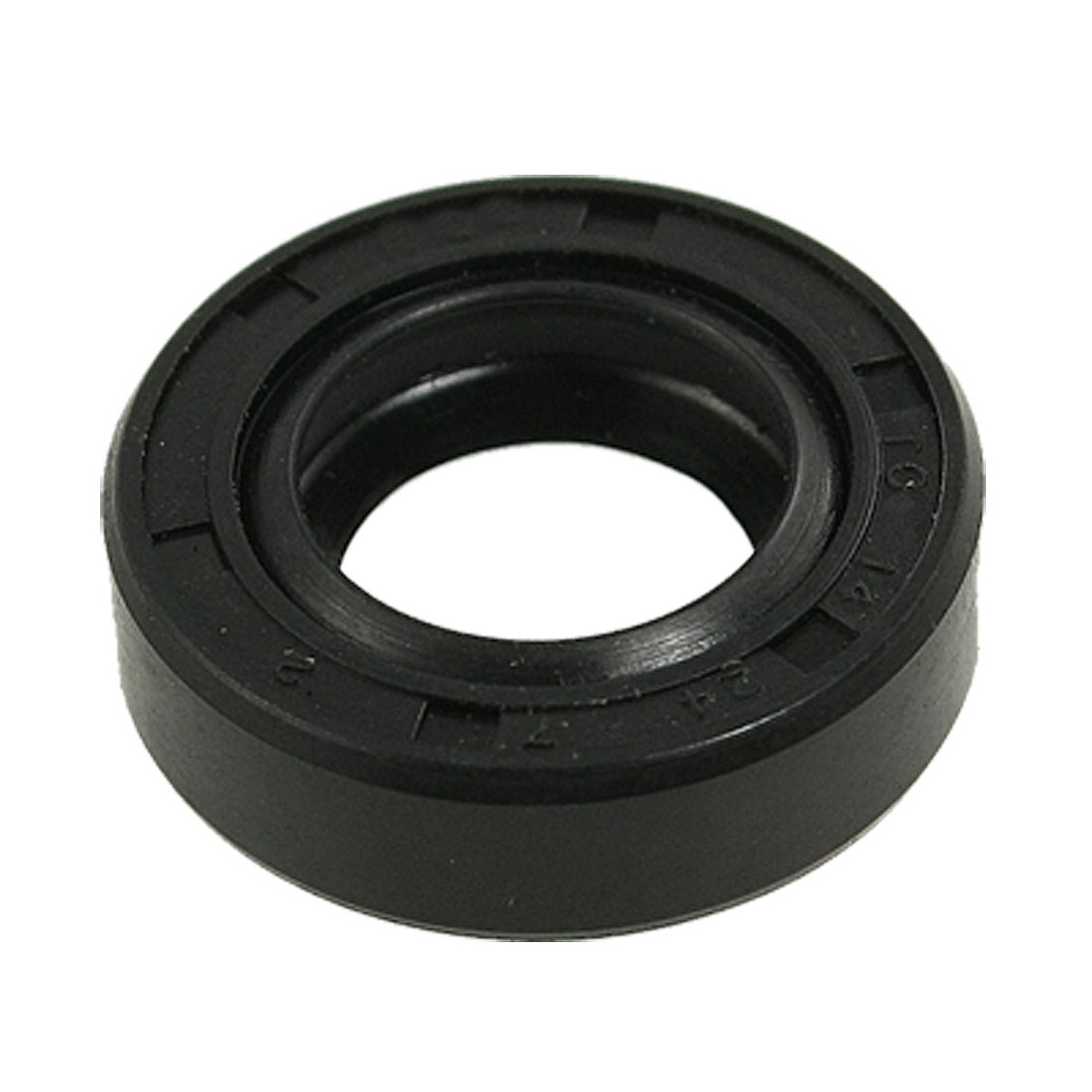 Spring Loaded Metric Rotary Shaft TC Oil Seal Double Lip 14x24x7mm