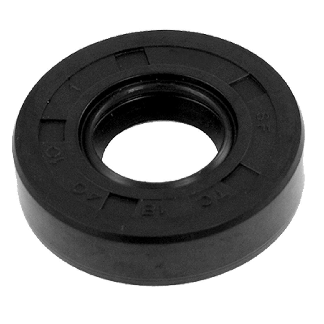 Steel Garter Spring Double Lip TC Oil Shaft Seal 18mm x 40mm x 10mm