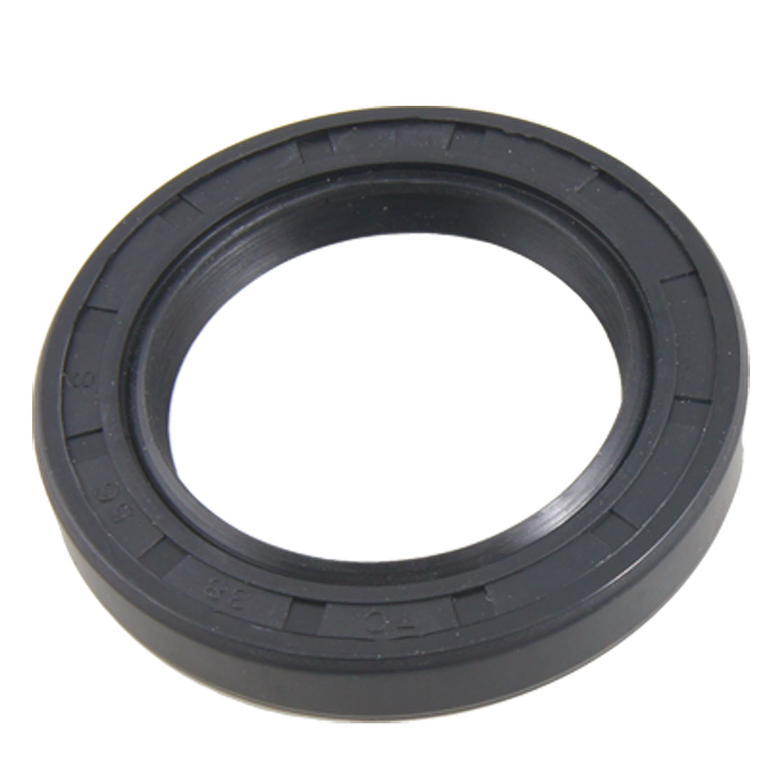 Garter Spring Load Rubber Covered Double Lip Engine Oil Seal TC 38x56x8mm