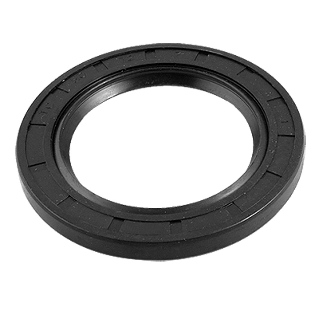 Black Rubber Spring Loaded TC Shaft Oil Seal 50mm x 72mm x 7mm