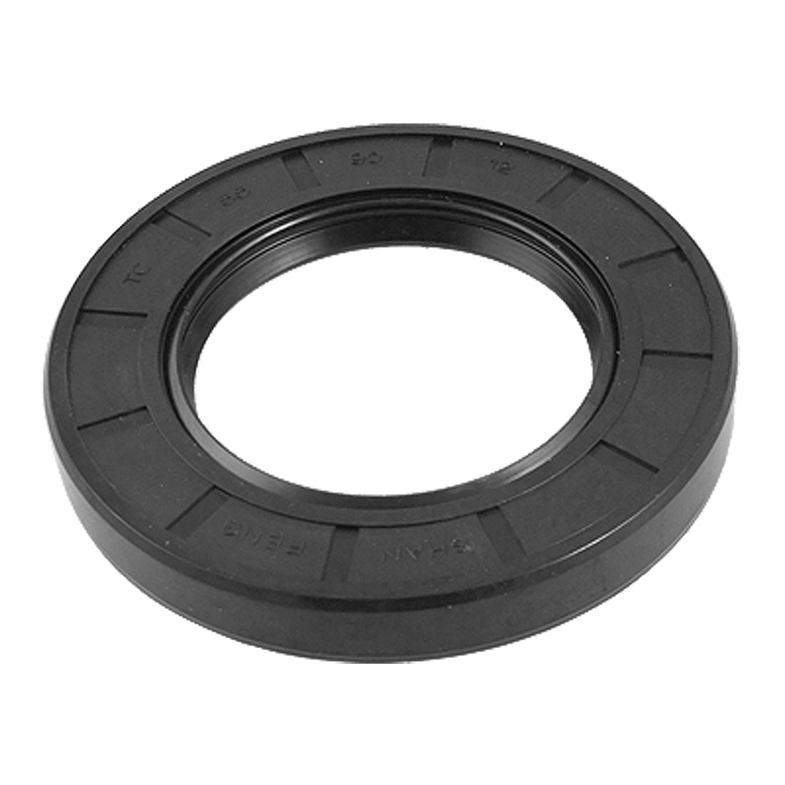 55x90x12mm Black Double Lip Rubber Rotary TC Shaft Oil Seal Ring