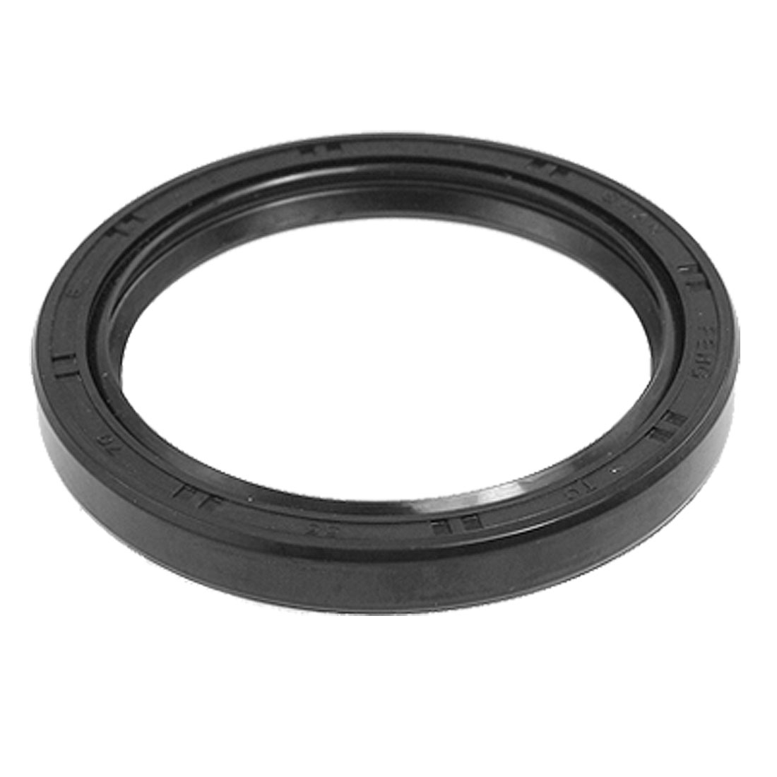 "Steel Spring Double Lip Rubber TC Oil Shaft Seal 2.16"" x 2.75"" x 0.3"""