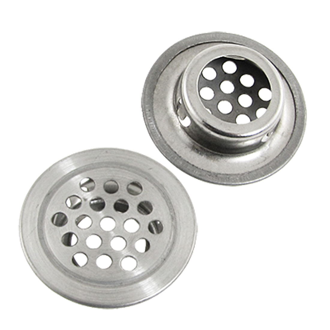 5 Pcs Metal Mesh Hole Round Louver Exhaust Air Vent 3cm 1.2""