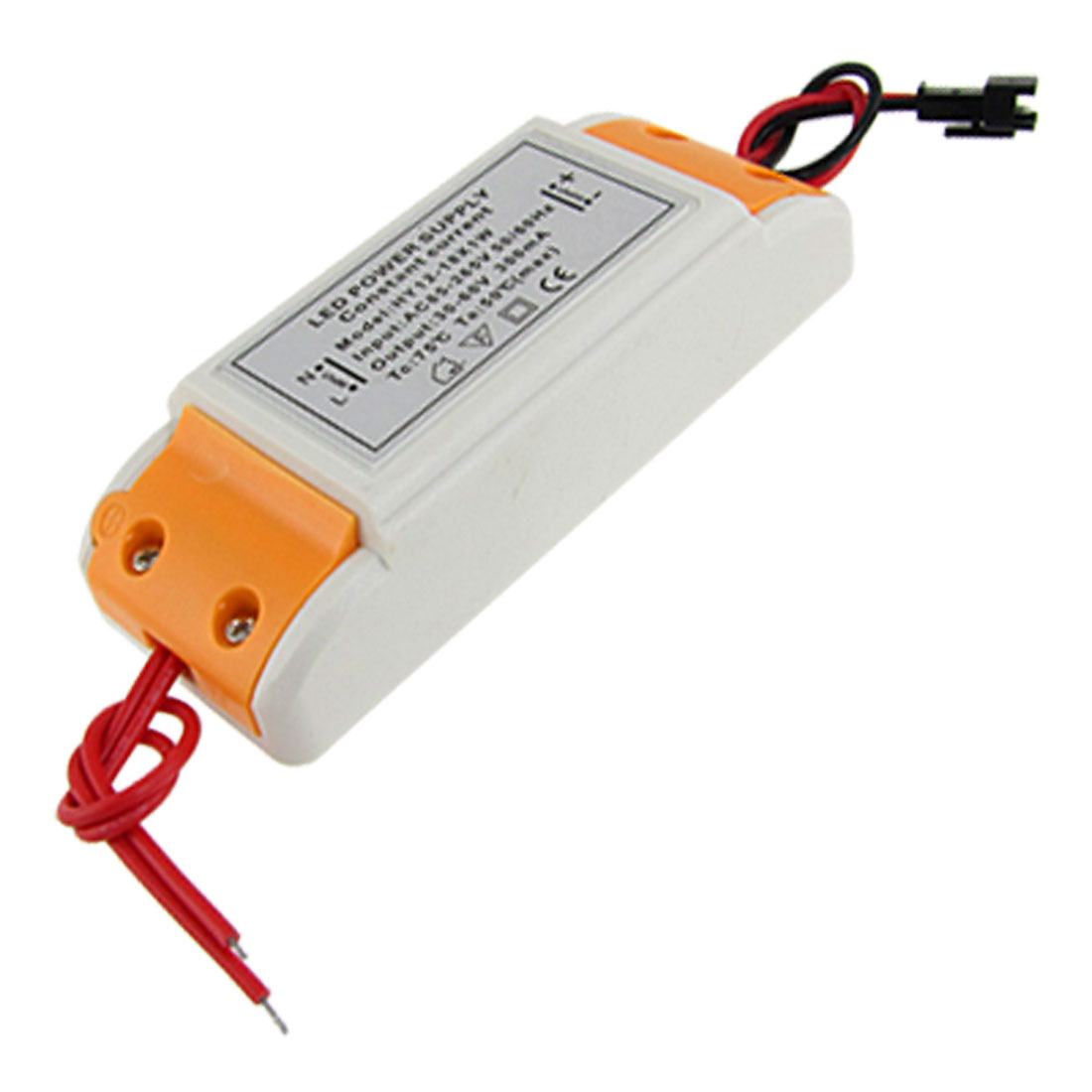 18x1W LED Strip Light Driver Power Supply Transformer AC 110-220V to DC 30-60V 300mA