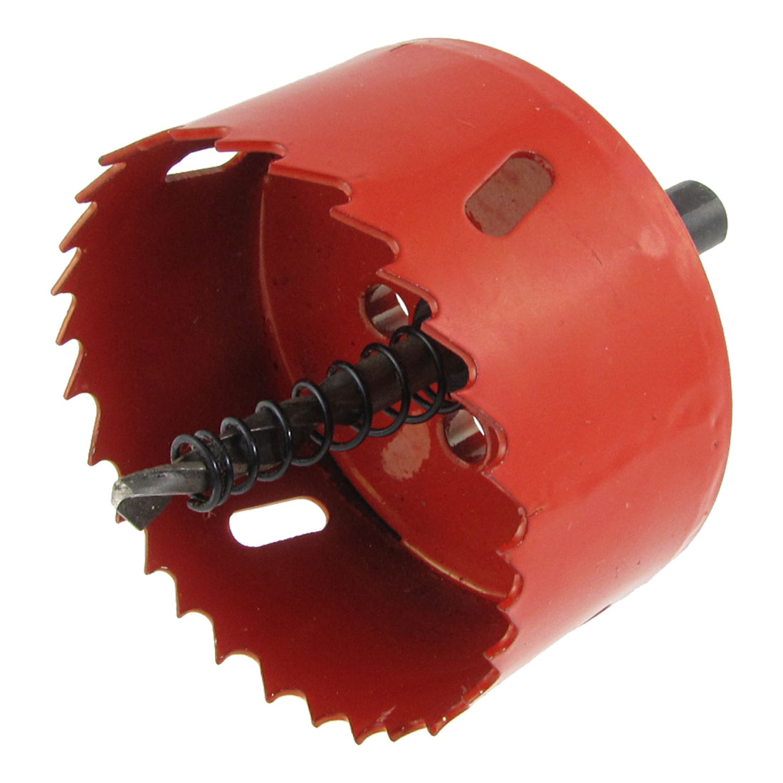 """2 3/4"""" 70mm Cutting Diameter Triangle Shank Twist Drill Bit Bimetal Hole Saw"""