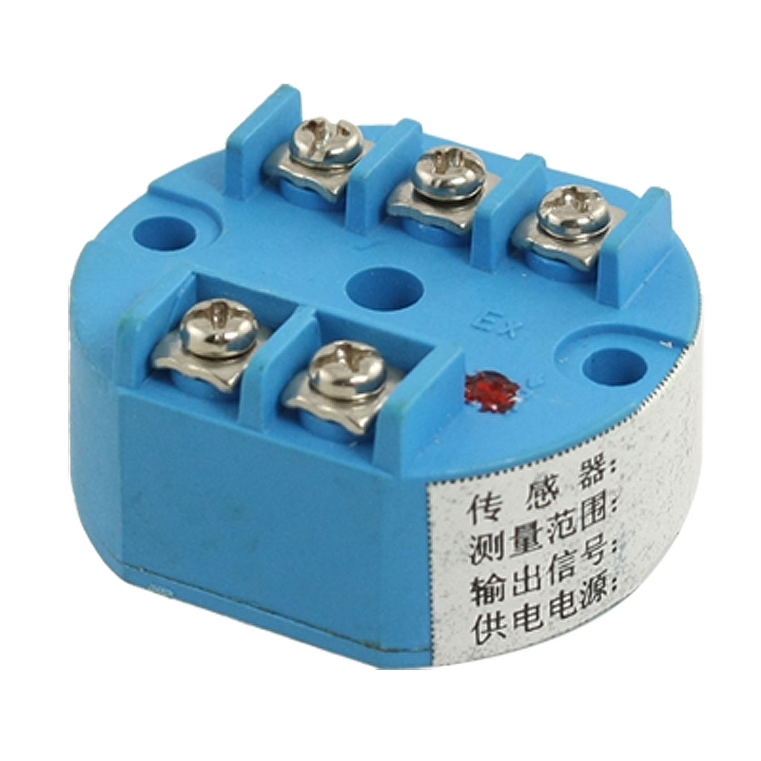 PT100 Temperature Sensor Transmitter 0-100C 24V DC 4-20mA Output