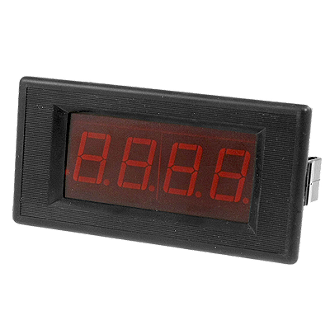 AC 0-2A 3 1/2 Digital RED LED Panel Ammeter Ampere Meter