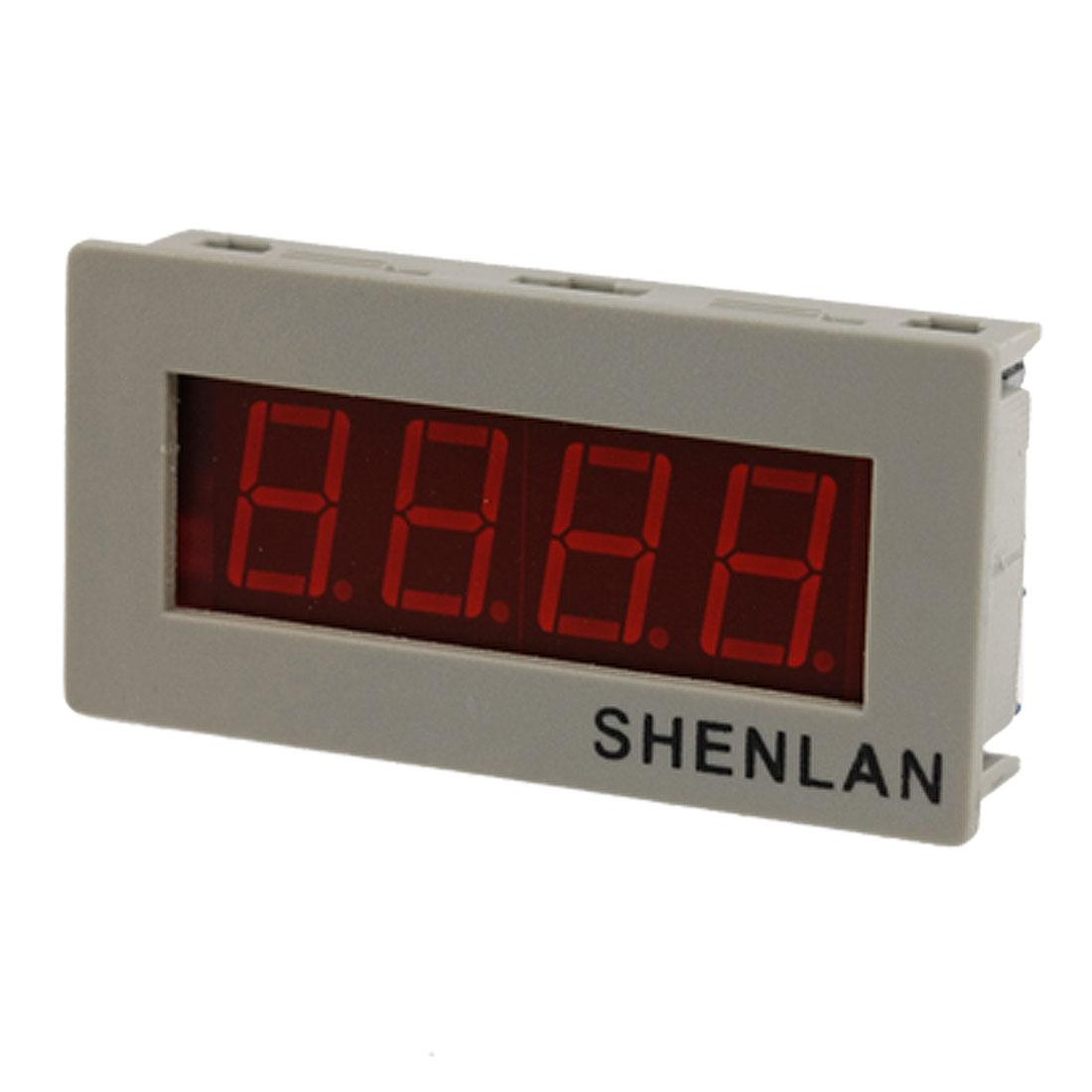 DC 0-20V 3 1/2 Red LED Digital Panel Voltmeter Voltage Meter Gauge