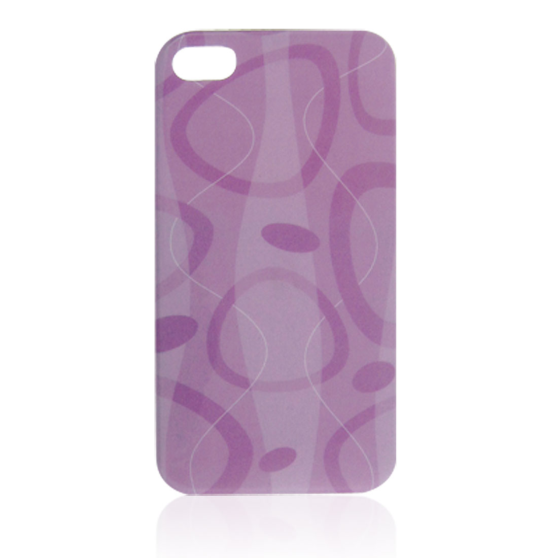 Assorted Color Wave Line Detail Mixed Pattern IMD Hard Plastic Back Shell Case for iPhone 4 4G 4S