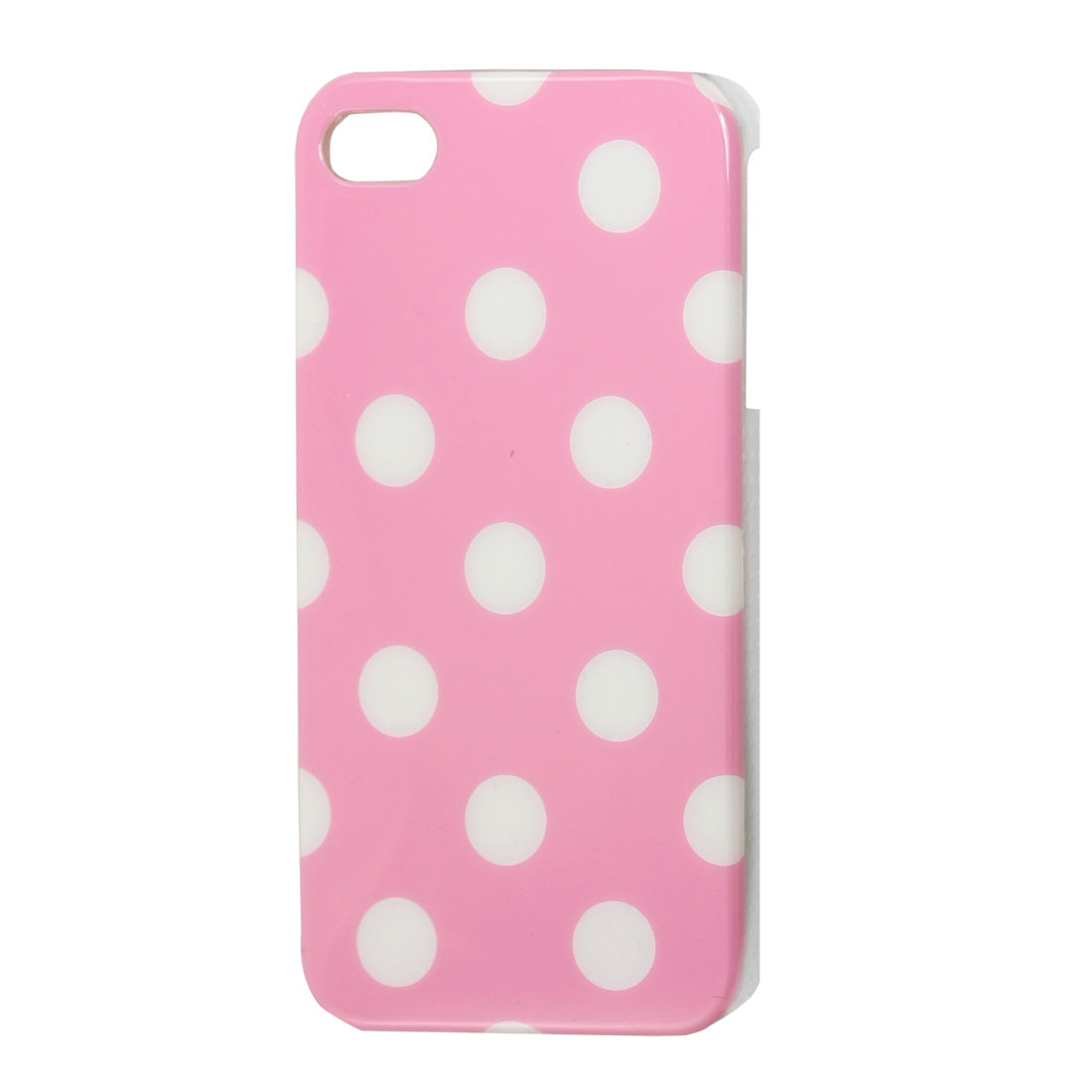 IMD White Dots Pattern Hard Plastic Back Case Cover for iPhone 4 4G 4S