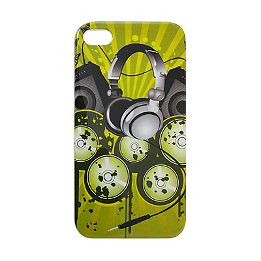 Headphone Speaker Box Pattern IMD Back Case Cover Protector for iPhone 4 4G 4S